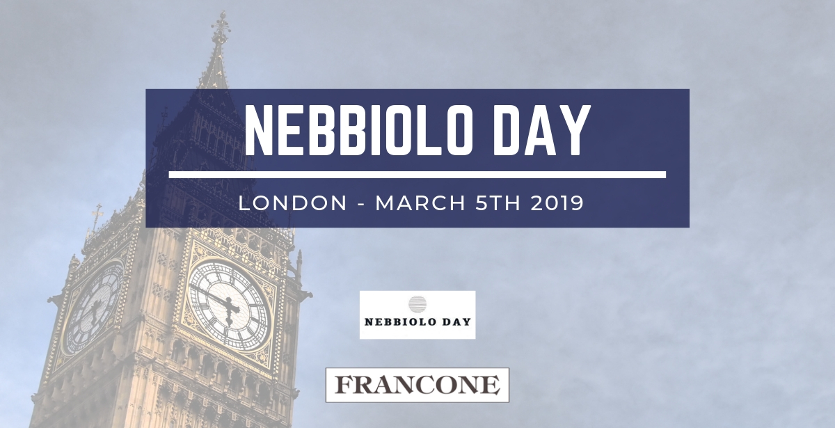 London calling! Nebbiolo Day 2019