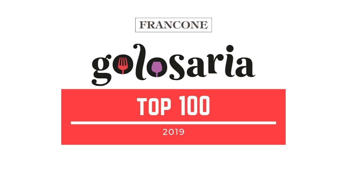 Siamo nella TOP HUNDRED  2019 di Golosaria!