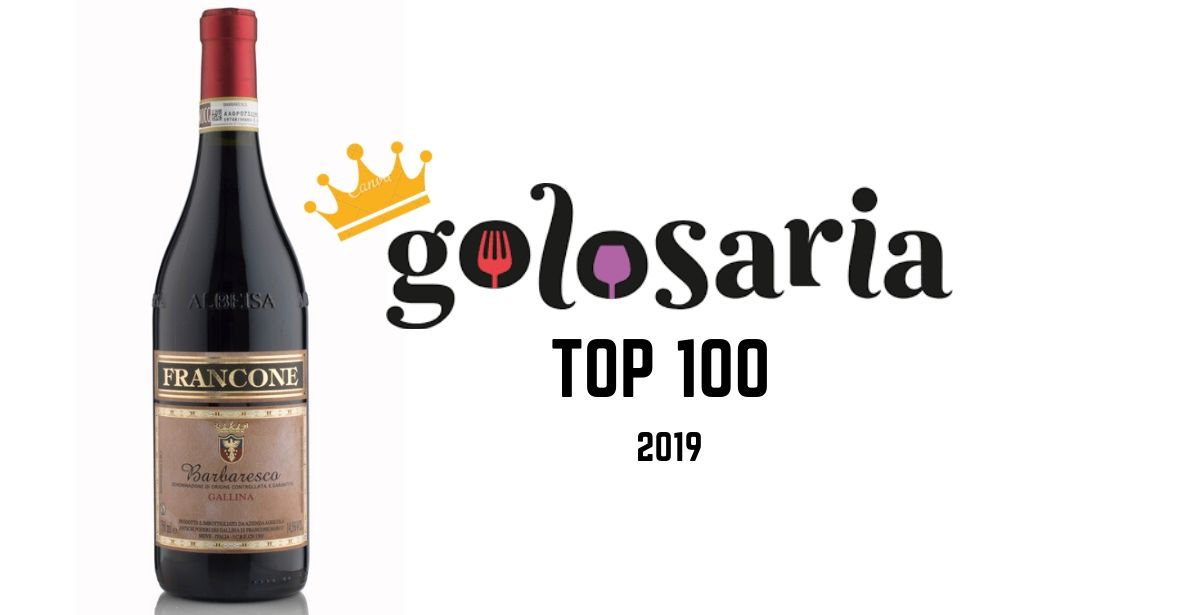 We are in the TOP 100 wines selected by Golosaria!